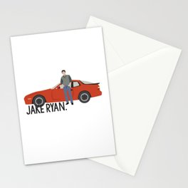 Sixteen Candles - Jake Ryan Stationery Cards