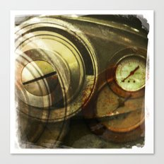 grey gauge Canvas Print