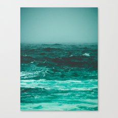 the bluest thing on earth Canvas Print