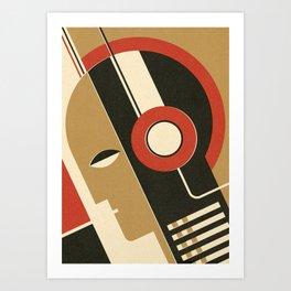 Bauhausmusic - Part I Art Print