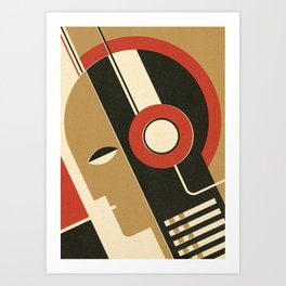 Bauhausmusic - Part I Art Print
