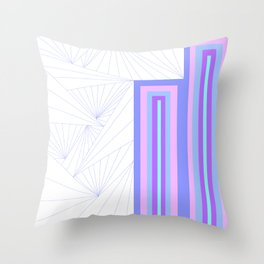 Pattern Number One Throw Pillow