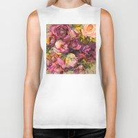roses Biker Tanks featuring Roses by jbjart