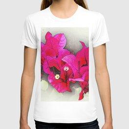 Bougainvillea Flowers T-shirt