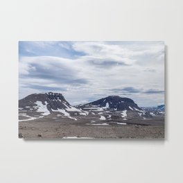 Icelandic Moonscapes - Two Metal Print