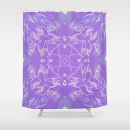 Amethyst Aura Shower Curtain