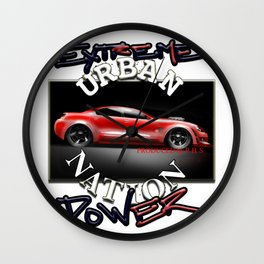 Car Hot Machine - Accessories & Lifestyle Wall Clock