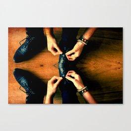 Double Knot. Canvas Print