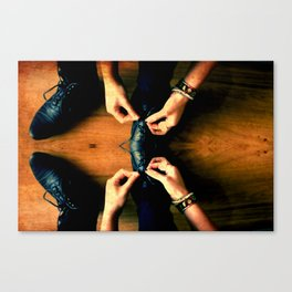 Double Knot. Canvas Print