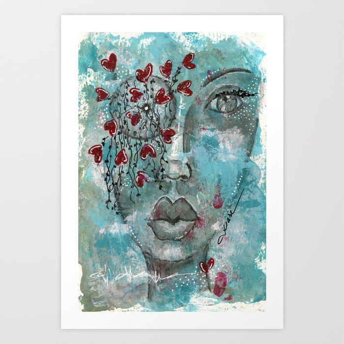 Come Through 3 Art Print