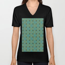Mid Century Modern Diamonds #6 Unisex V-Neck