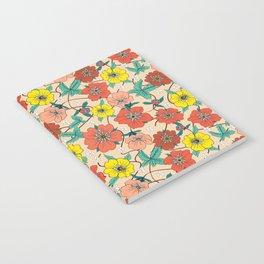 Potentillas and Daisies Notebook