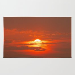 Sunset in Canada Rug