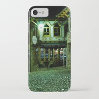 cafe iPhone & iPod Cases featuring cafe Evropa by RAIKO IVAN雷虎