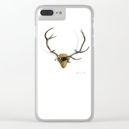 King Henry VIII Clear iPhone Case