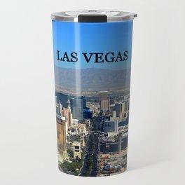 Las Vegas poster work A Travel Mug