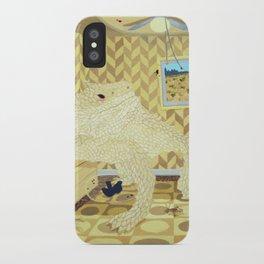 Horned Lizard iPhone Case