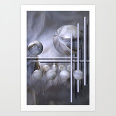 geometric decoration -4- Art Print