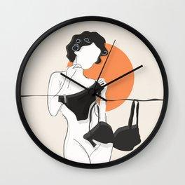 Sunday morning 2 Wall Clock