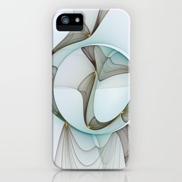 Abstract Elegance iPhone Case