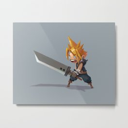 Cloud Strife Metal Print