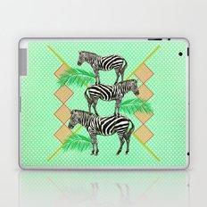 zebras in the jungle Laptop & iPad Skin