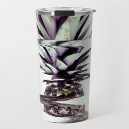Glitched Pineapple Travel Mug