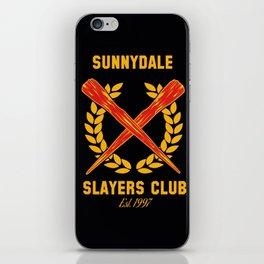 Buffy Vampire iPhone Skin