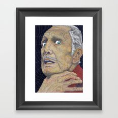 VINCENT ( or The Price Of Madness ) Framed Art Print