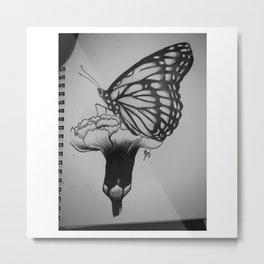 Nature Flys  Metal Print
