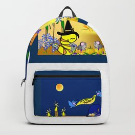 """""""Willy Worm's Happy Halloween"""" Backpack"""