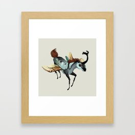 Tiny Unicorn (1 of 3) Framed Art Print