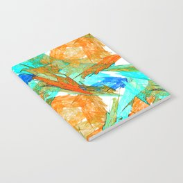 Original Abstract Duvet Covers by Mackin & MORE Notebook