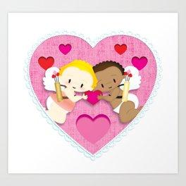 Cupid Love Art Print
