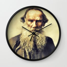 Leo Tolstoy, Litrary Legend Wall Clock