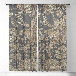 Fabric Sheer Curtain