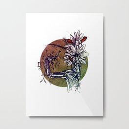 Bouquet de Nerfs Metal Print