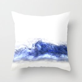 Atmospheric abstract Throw Pillow