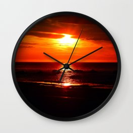 Shine on Twilight Wall Clock