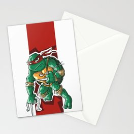 Red Band Turtle Stationery Cards