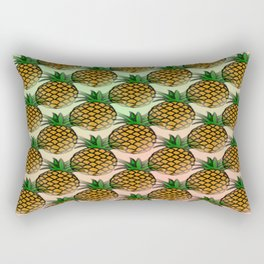 Pineapple living  Rectangular Pillow