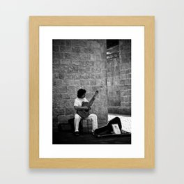 Guitara Framed Art Print