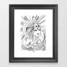 Intoxicating Moment Framed Art Print