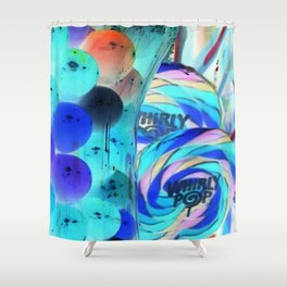 Lollipops & Gumballs Shower Curtain