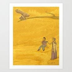 The Bird of Truth Art Print