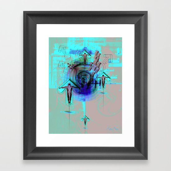 Spiritual Gravity 0.2 Framed Art Print