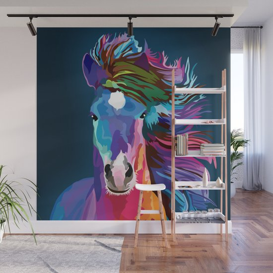 pop art horse by ancello