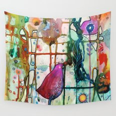 se laisser guider Wall Tapestry