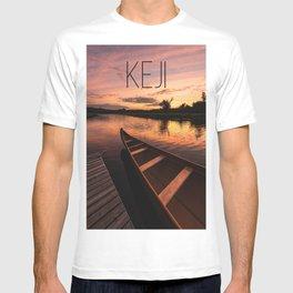 Mersey River Glow T-shirt