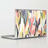 deco Laptop & iPad Skins featuring Deco Marble by Beth Thompson